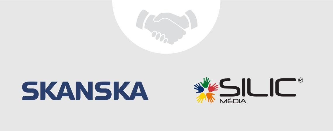 Skanska spolupracuje se Silic Média