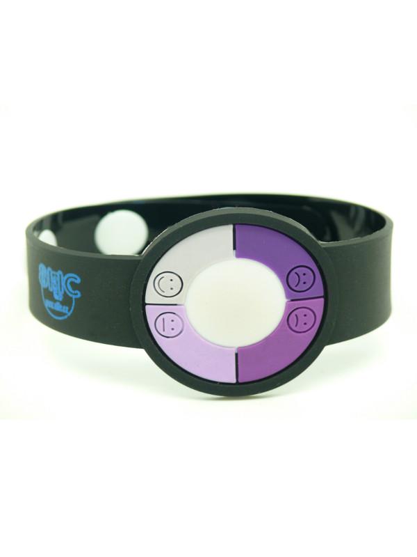 UV silikonový náramek s potiskem