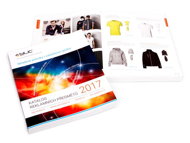 Katalog reklamních předmětů Silic Média 2017