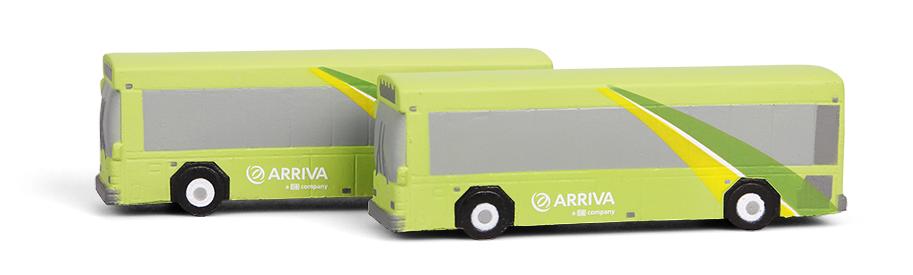 Reklamní antistresové předměty - autobusy Arriva