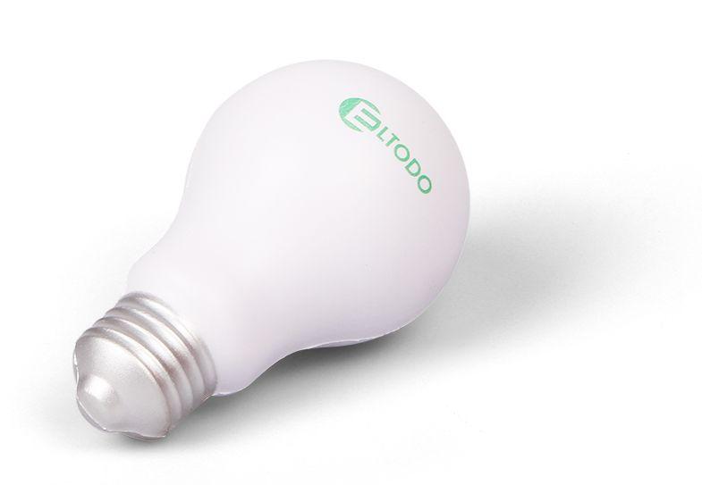 Reklamní antistresové předměty - žárovka Eltodo