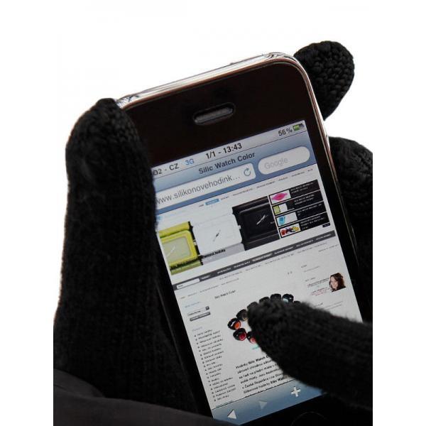 Reklamní dotykové rukavice