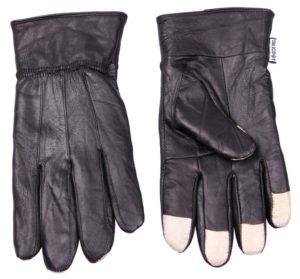 Reklamní dotykové rukavice kožené - Silic