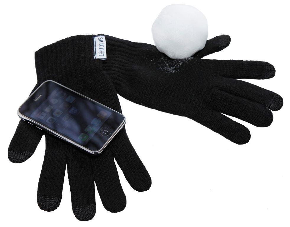 Reklamní dotykové rukavice - Silic