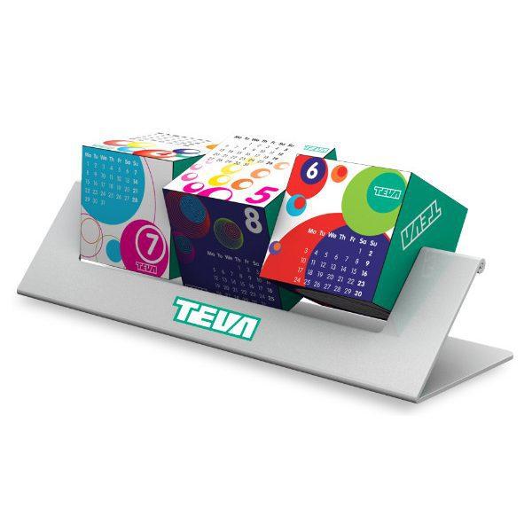Reklamní kostky otočné - 3d reklamní kalendáře