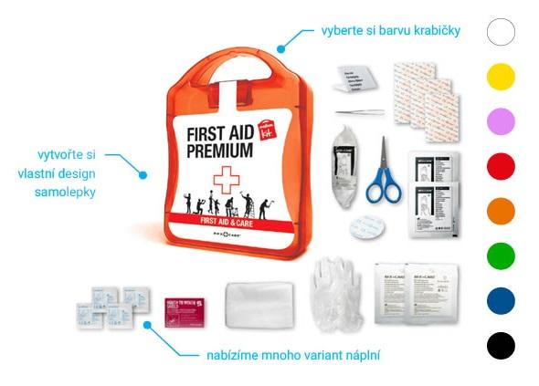 Reklamní lékárničky ve vlastním designu