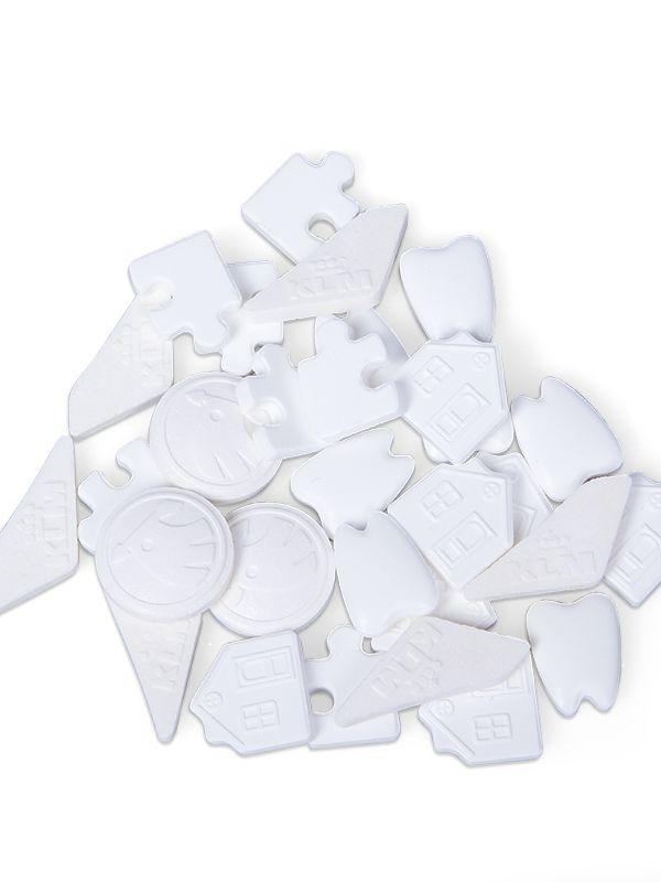 Reklamní mentolové bonbony ve vlastním tvaru - skupinka