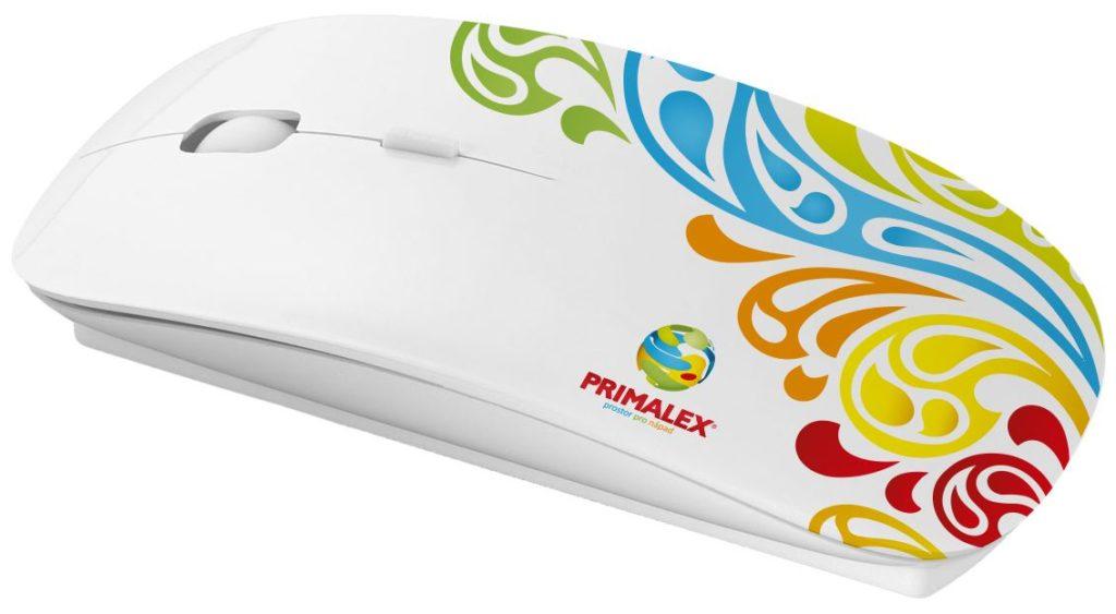 Reklamní myš s potiskem ve vlastním designu - Primalex