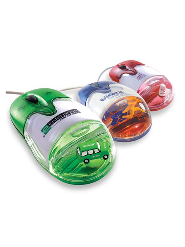 Reklamní optická myš s 3D objektem