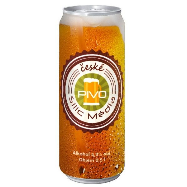 reklamní pivo Silic Média