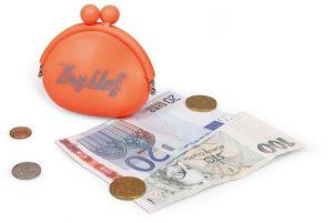 Reklamní silikonové peněženky s potiskem Kryštof