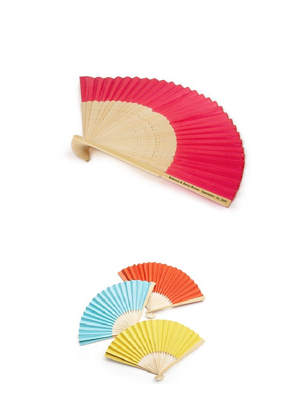 reklamní vejíře barevné