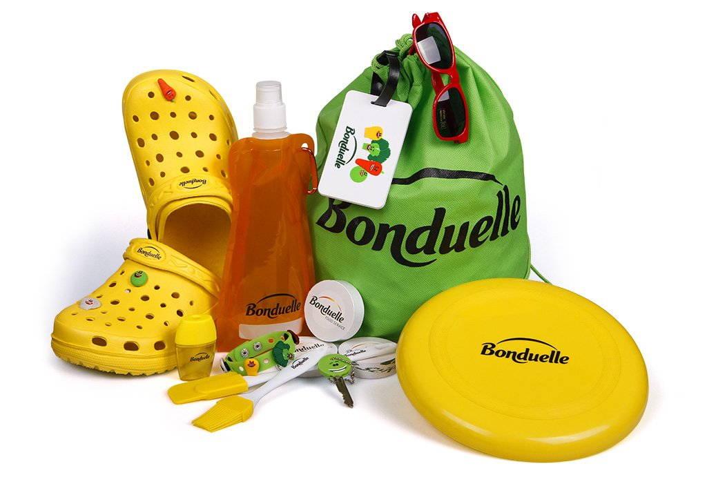 Reklamní předměty Bonduelle