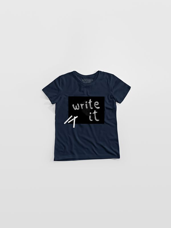 Reklamní tričko popisovatelné křídou
