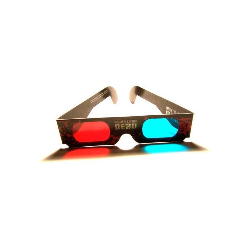 Reklamní 3D papírové brýle