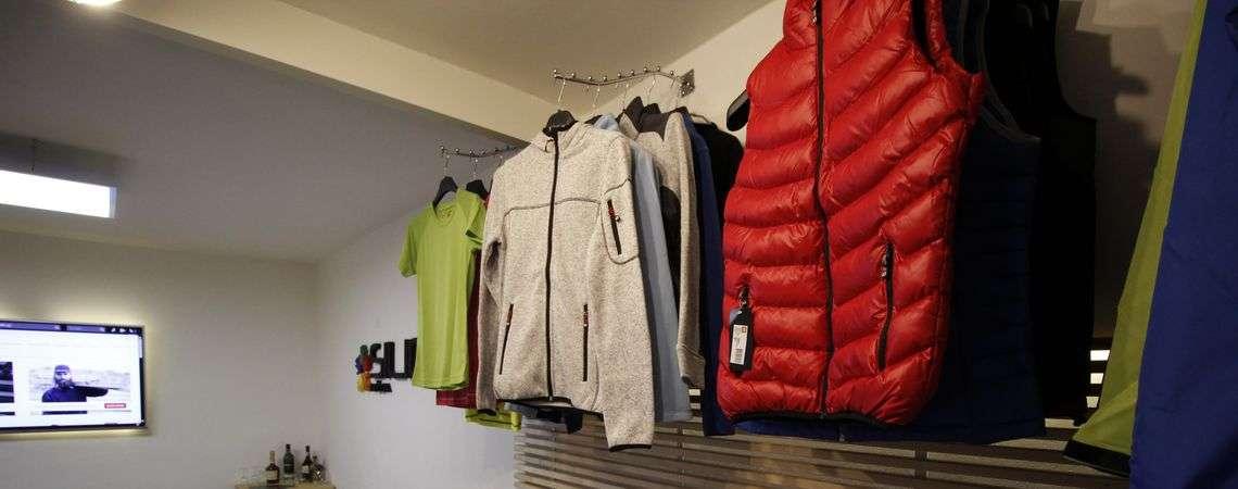 Reklamní textil ID showroom