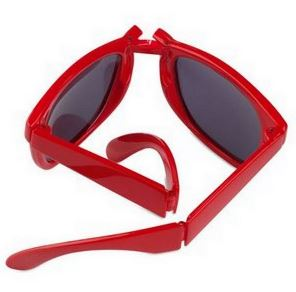 Reklamní skládací sluneční brýle červené