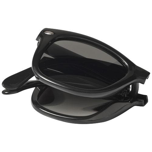 Reklamní skládací sluneční brýle černé