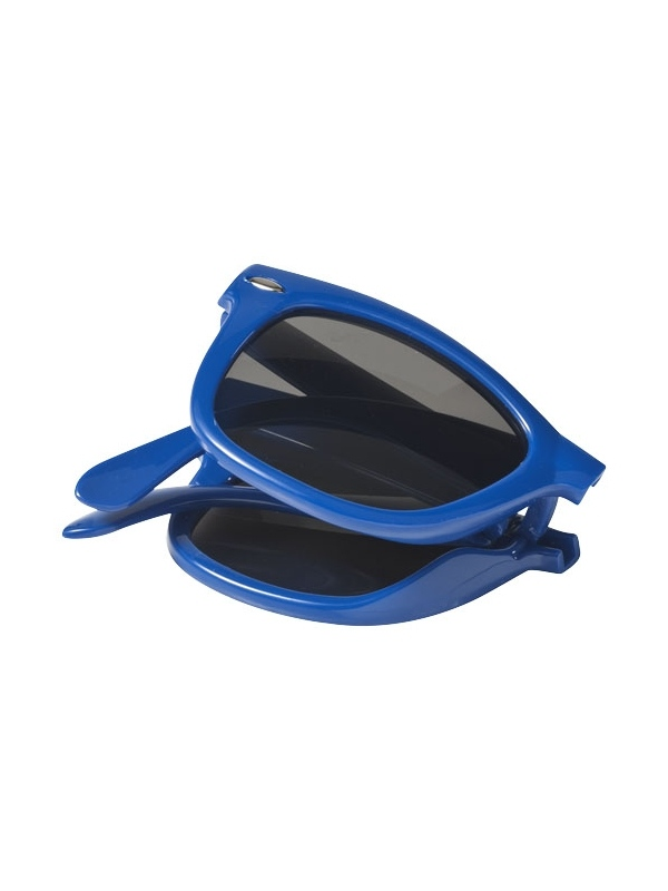 Reklamní skládací sluneční brýle modré