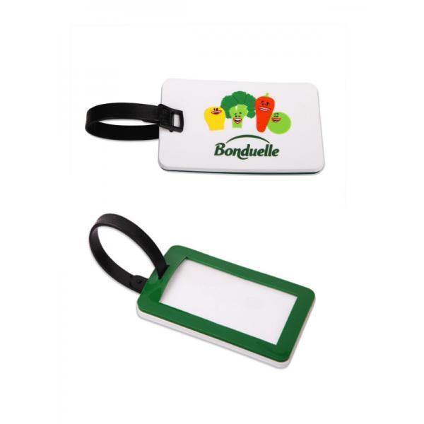 Reklamní visačky na kufr Bonduelle