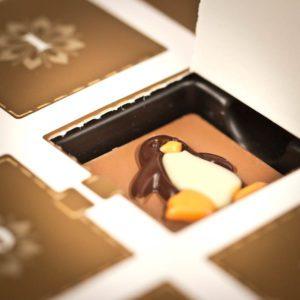 Adventní kalendář s belgickou čokoládou