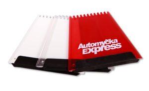 Reklamní autoškrabky autoomyčka express