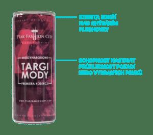 Energetický nápoj branding