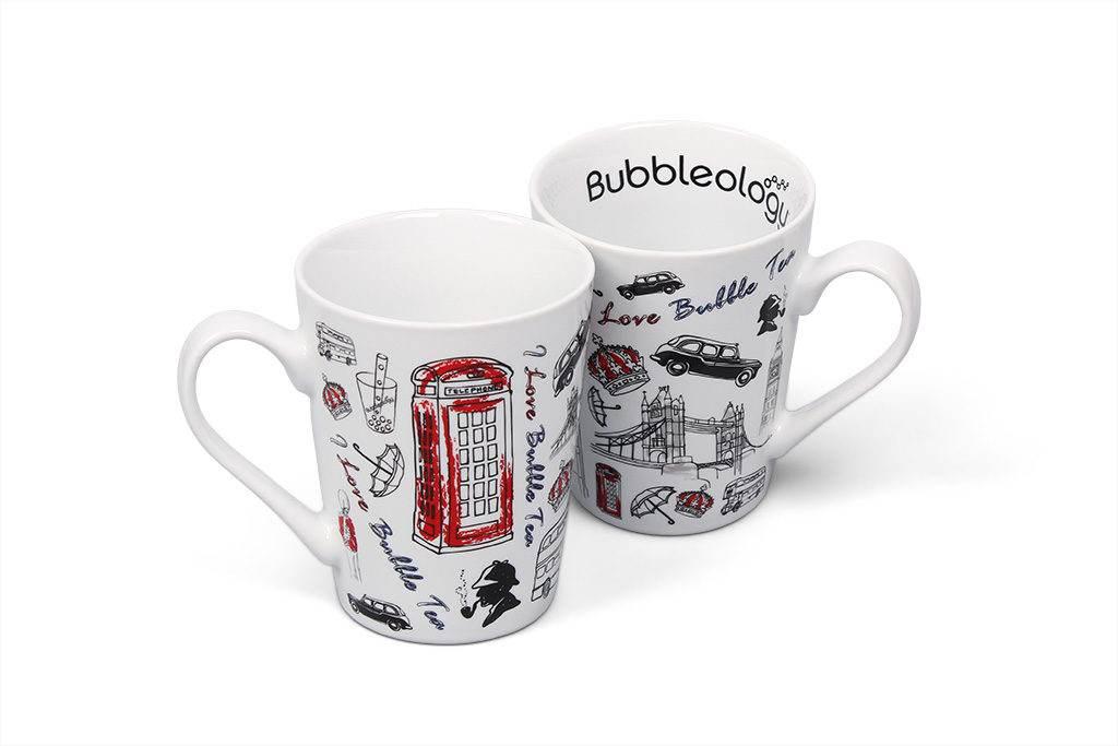 Hrnky Bubbleology - potisk
