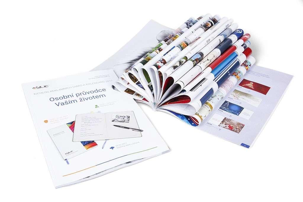 Katalog diářů a kalendářů