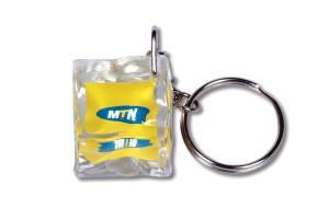 reklamní akrylová klíčenka