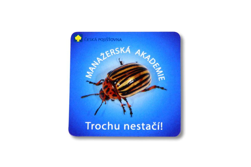 Reklamní magnetka Česká pojišťovna