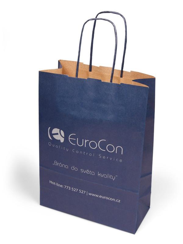 Papírová reklamní taška - EuroCon