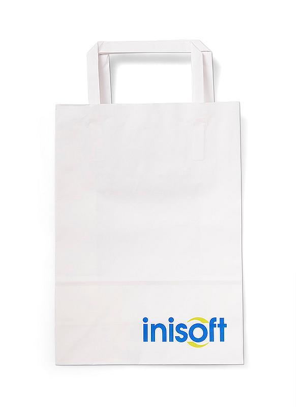 Reklamní papírová taška s potiskem - Inisoft