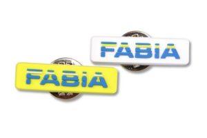PVC odznáčky Fabia