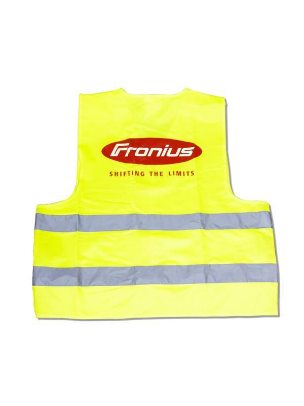 Reklamní reflexní vesta s potiskem - Fronius