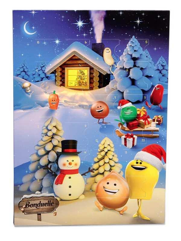 Reklamní adventní kalendáře - Bonduelle