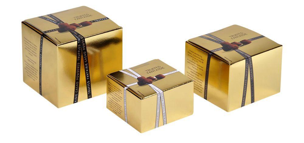 Reklamní balení čokoládových pralinek