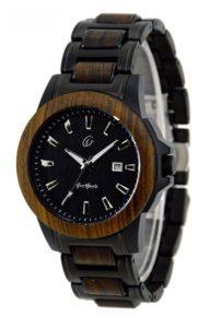 Reklamní dřevěné hodinky