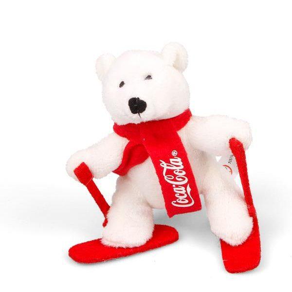 Reklamní plyšové hračky - medvídek Coca Cola