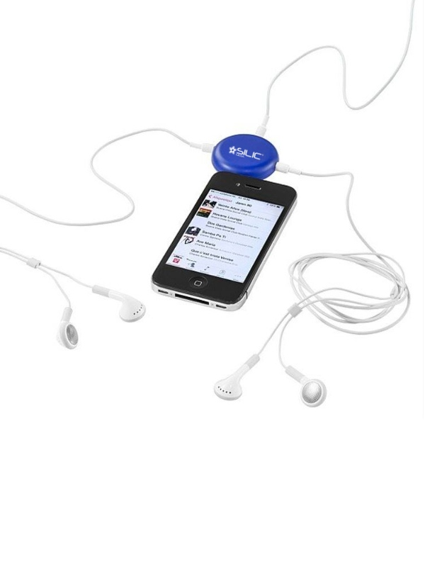Reklamní rozbočovače na sluchátka