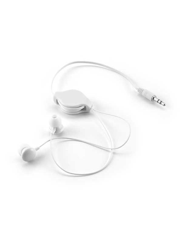 Reklamní samonavíjecí sluchátka
