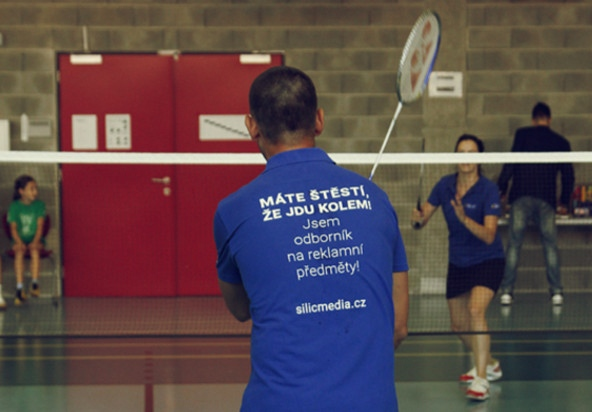 Badminton Cup Silic Média