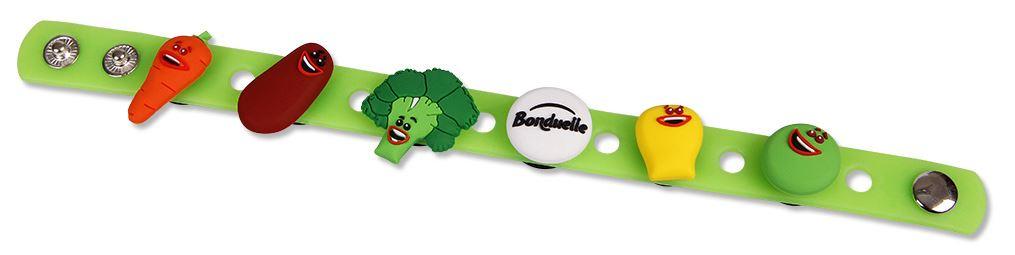 Silikonové Pin ON náramky - Bonduelle