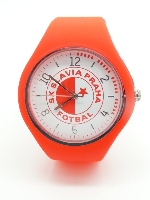 Reklamní silikonové hodinky Slavia