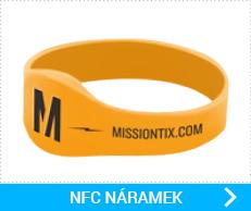 NFC silikonové náramky