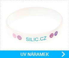 UV silikonové náramky