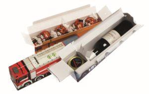 Reklamní designové krabice na víno