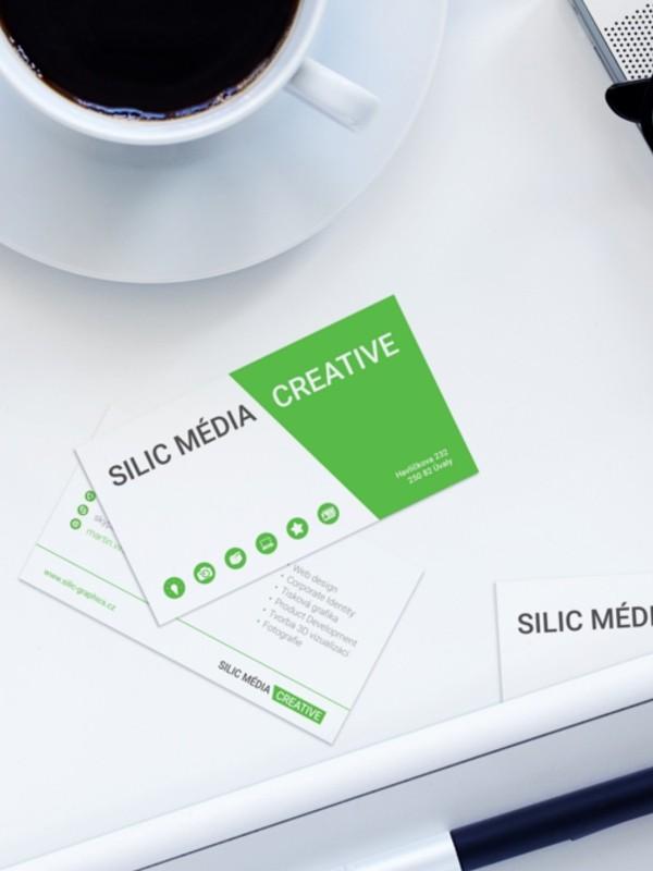 reklamní vizitky silic