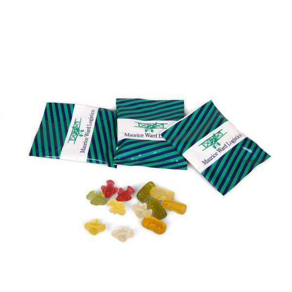 Reklamní želatinové bonbony