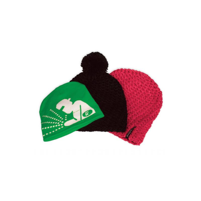 Zimní čepice ve firemním designu